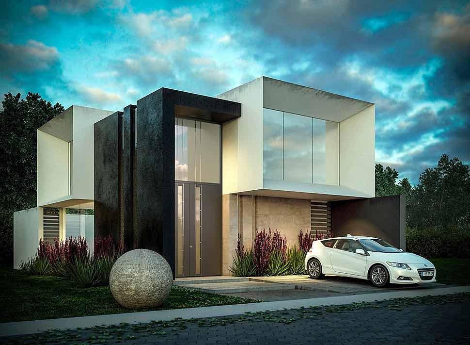 Es muss nicht immer in die Breite gehen: Extra hohe Haustüren ziehen die Blicke ebenso auf sich und fügen sich harmonisch in die Architektur des Hauses ein. Foto: PIRNAR